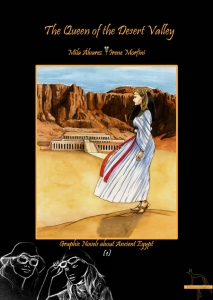 The cover of the graphic novel by Sosa and Morfini. There are English and Spanish versions available.