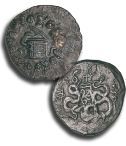 Coins from the Antikythera wreck. Credit: http://www.namuseum.gr/object-month/2012/oct/oct12-en.html