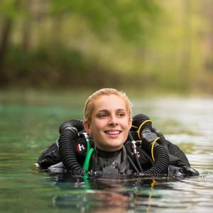 Technical Diver Gemma Smith will be Foley's dive buddy. Credit: Gemma Smith