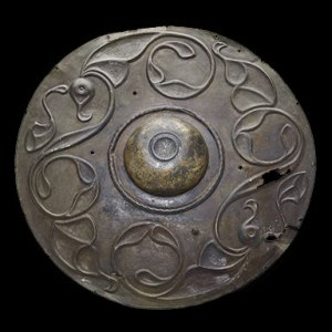 Celt shield found at Wandsworth in London. Image: British Museum